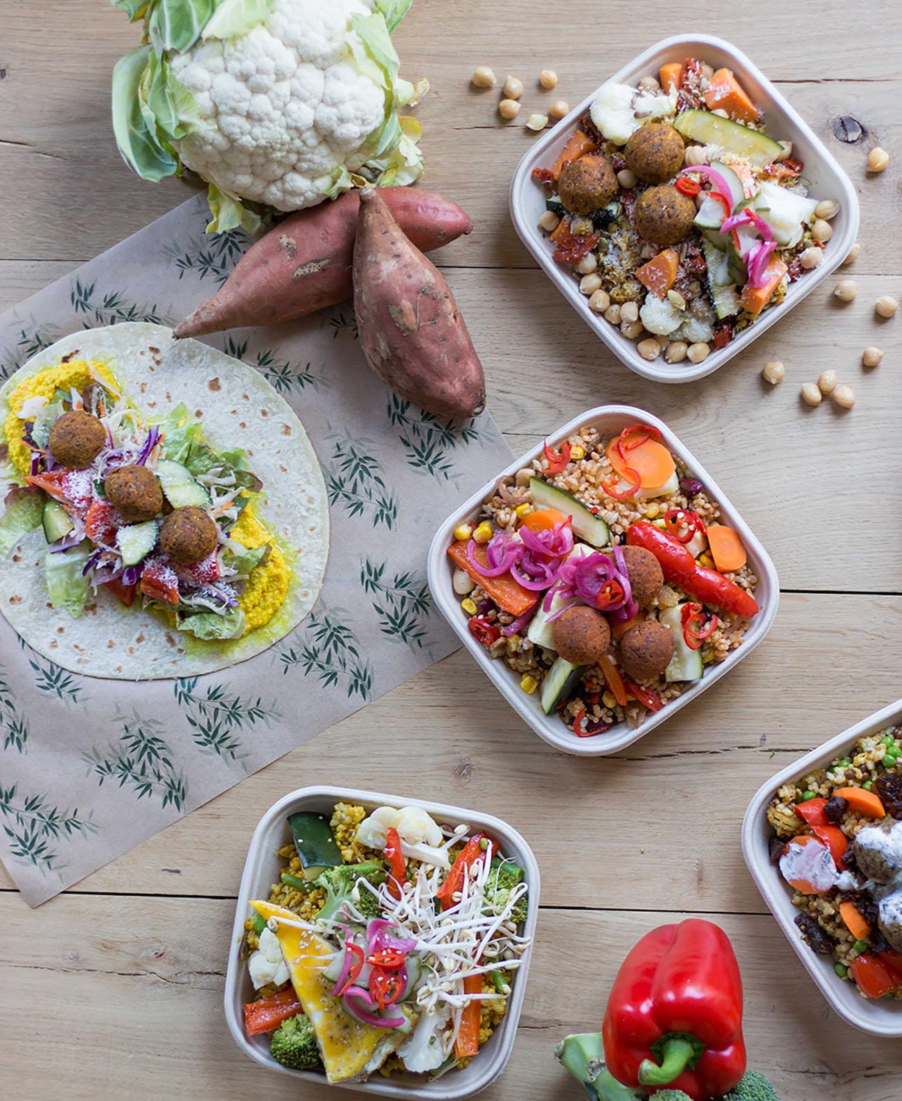 100% biologische gerechten, vegetarisch en vegan healthy fast food, Goed Eten Den haag, Bestellen, Bezorgen, af halen, Gezond, biologisch restaurant, vegetarisch, vegan